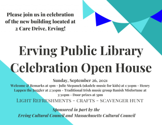 Library Celebration Open House Invitation